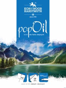 Blok POP OIL A4 10ark 250g BLO-OIA4PO