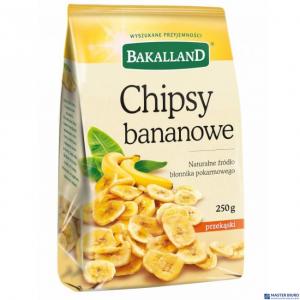 Chipsy bananowe 250g BAKALLAND
