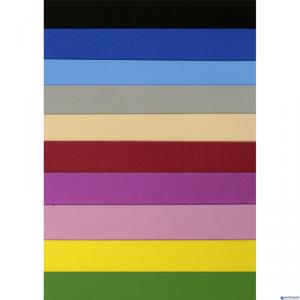 Arkusze piankowe samoprzylepne A4 10 kolorów 437171 TITANUM