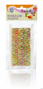Taśma dekoracyjna tęczowa - Meksykańskie wstążki ASTRA, 335119023