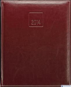 Kalendarz B5 PLUS książkowy (U2)03 granat teksas/metalic TELEGRAPH