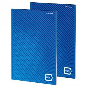 Blok notatnikowy TOP 2000 COLOR 2.0 klejony A5 50k 70g kratka 400146151