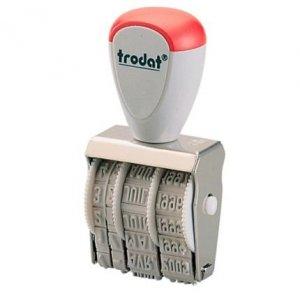 Datownik ręczny 4mm 1010 ISO TRO TRODAT