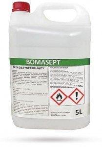 Płyn do dezynfekcji powierzchni i rąk 5l BOMASEPT alkohol>70%, 8%VAT