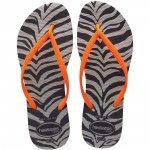 Klapki Havaianas SLIM ANIMALS FLUO Black