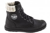 Trapery Palladium PAMPA HI KNIT LP Black 95172008