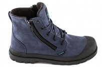 Trapery Palladium PAMPA HI LEA GUSSET Dark Denim Black Blue 52744432