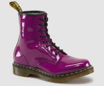 Buty Dr. Martens 1460 W Purple Patent Lamper