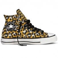 Trampki Converse CHUCK TAYLOR ALL STAR HI Old Gold Black 540284F