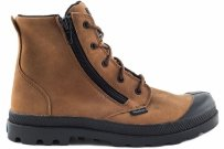 Trapery Palladium PAMPA HI Lea Gusset Brown 52744216