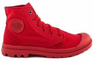 Buty Palladium MONOCHROME Red 73089600