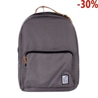 Plecak The Pack Society CLASSIC BACKPACK SOLID CHARCOAL 999cla702.03