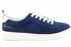 Trampki Fly London MACO 833 Blue Nubuk