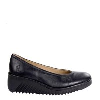 Czółenka Fly London LENY 258 Black Mousse P501258000