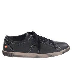 Półbuty Softinos TOM Black Smooth Lea P900219524