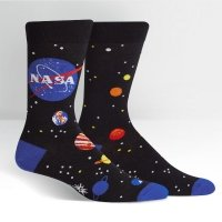 Skarpety męskie Sock It To Me NASA Solar System MEF0443