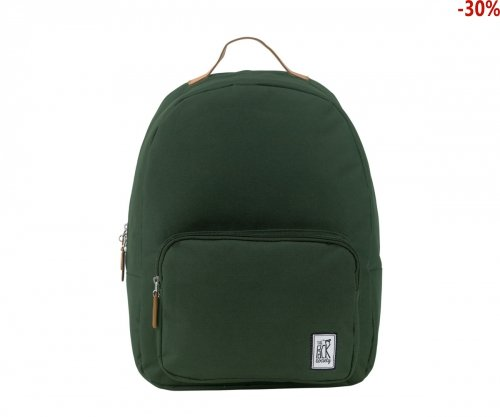 Plecak The Pack Society CLASSIC BACKPACK SOLID FOREST GREEN 999CLA702.20