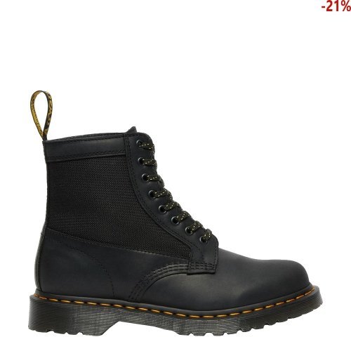 Buty Dr. Martens 1460 PANEL Black Streeter+ Extra Tough 50/50 26912001