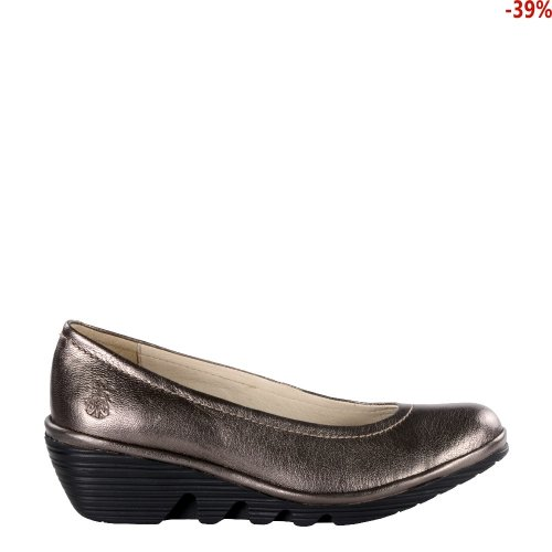 Czółenka Fly London PUMP Bronze Idra (Black Sole) P500424096