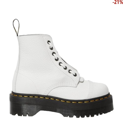Buty Dr. Martens SINCLAIR PLATFORM White Milled Nappa 26261100