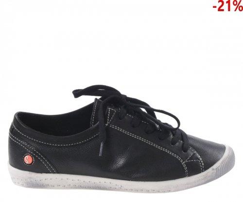 Półbuty Softinos ISLA Black Smooth Le P900154535