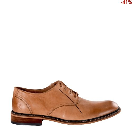 Półbuty Fly London HOCO 817 Antique Tan Washed P143817004