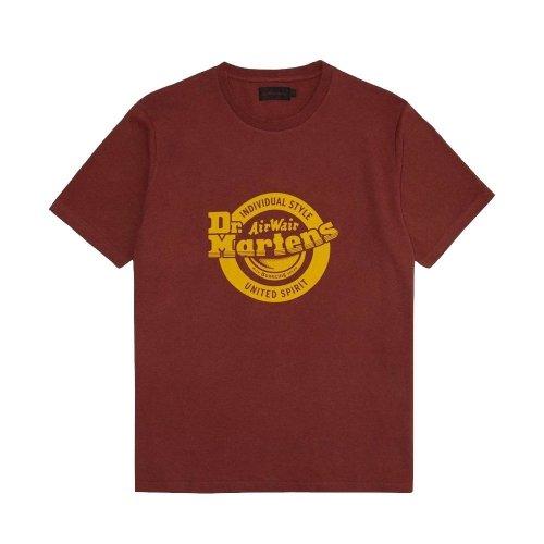 T-Shirt Dr. Martens LOGO Dark Red AC723623
