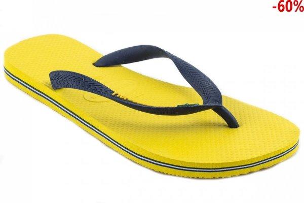Klapki Havaianas BRASIL LOGO Yellow Citrus