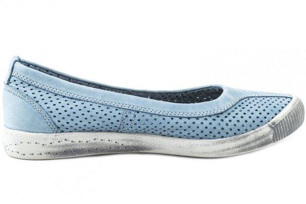Balerinki Softinos IOL389SOF Pastel Blue Washed