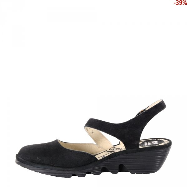 Sandały Fly London PELE 975 Black Cupido P500975000