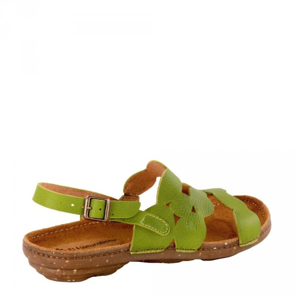 Sandały El Naturalista N5223 Lime Torcal Soft Grain 2500610001