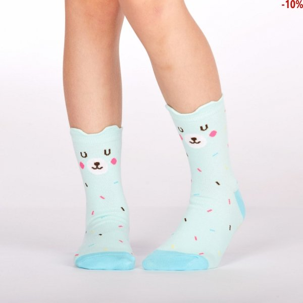 Skarpety dziecięce Sock It To Me Bearly Sprinkled JC0043
