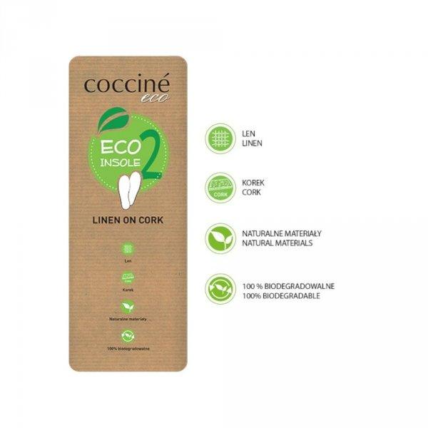 Wkładki Coccine ECO INSOLE 2 LINEN ON CORK