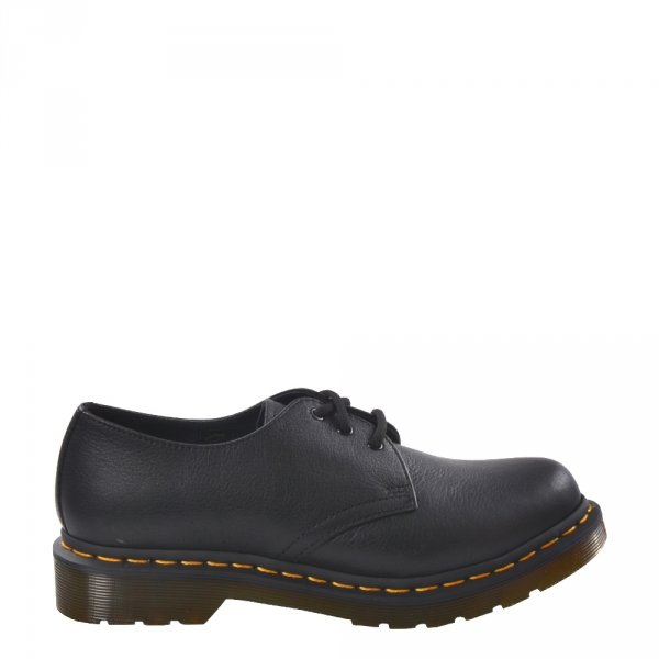 Półbuty Dr. Martens 1461 W Black Virginia 24256001