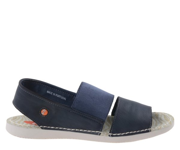 Sandały Softinos TAI383SOF Navy Washed Le P900383000