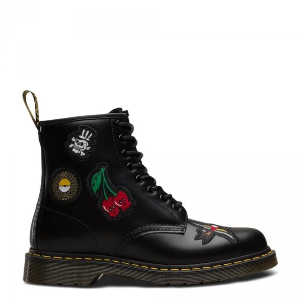 Buty Dr. Martens 1460 PATCH Black Smooth 24436001