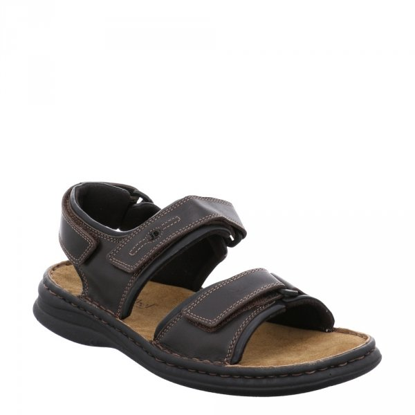 Sandały Josef Seibel RAFE Schwarz Moro 1010457331
