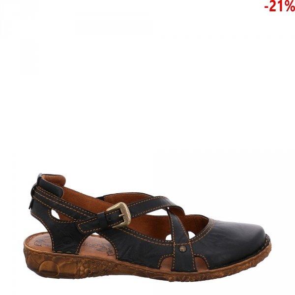 Sandały Josef Seibel ROSALIE 13 Schwarz 7951395100