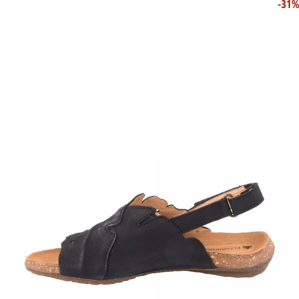 Sandały El Naturalista WAKATUA N5068 Black Pleasant