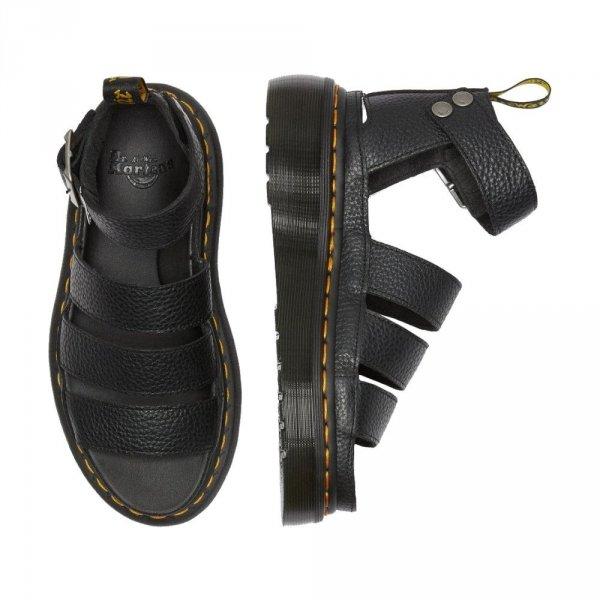 Sandały Dr. Martens CLARISSA II QUAD Black Aunt Sally 24476001
