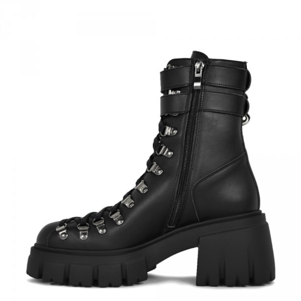 Botki Altercore CHLOE II Black VEGAN