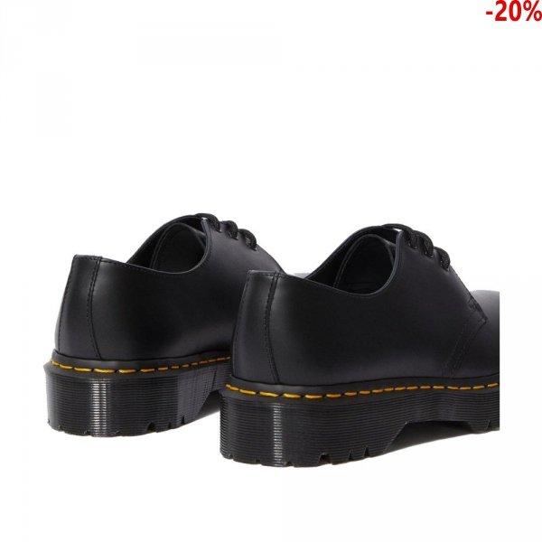 Półbuty Dr. Martens 1461 BEX Black Smooth 21084001