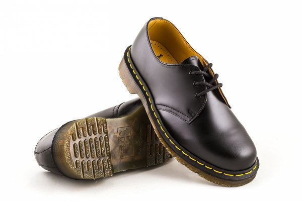 Półbuty Dr. Martens 1461 SMOOTH Black Smooth 11838002