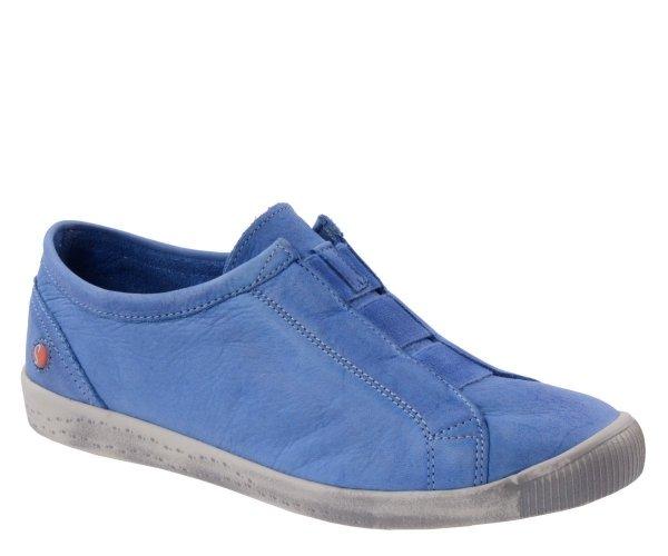 Półbuty Softinos INI 453 Lavender Blue Washed P900453007