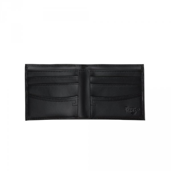 Portfel Dr. Martens LEATHER WALLET Black Kiev AC718001