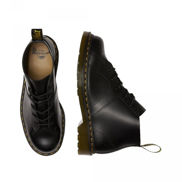 Buty Dr. Martens CHURCH MONKEY BOOTS Black Smooth 26256001