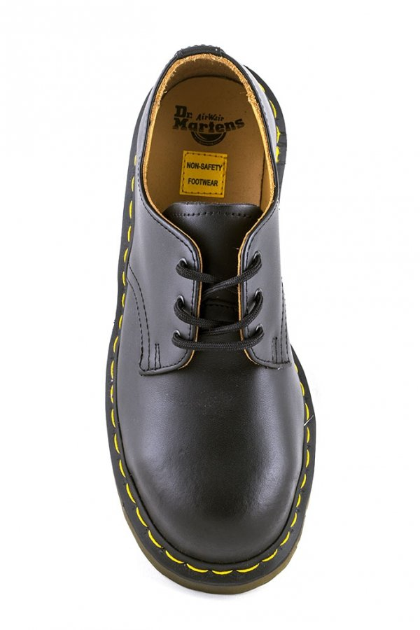Półbuty Dr. Martens 1925 Black Fine Haircell 10111001