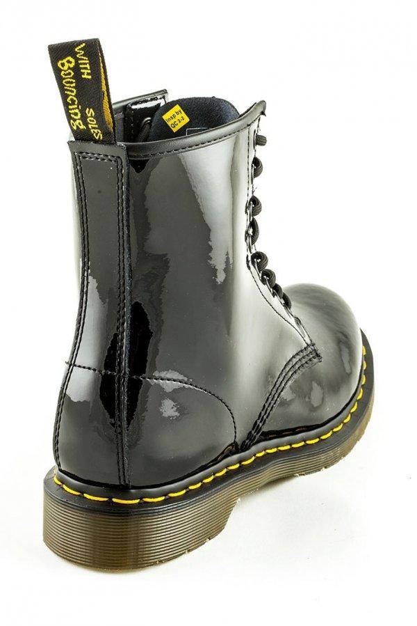 Buty Dr. Martens 1460 W Black Patent Lamper 11821011