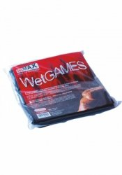 BDSM-SexMAX WetGAMES Sex sheet, 180 x 220 cm, black