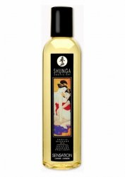 Olejek-SHUNGA MASSAGE OIL SENSATION 250 ML